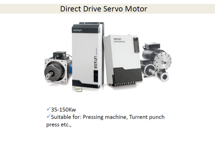 Product for Direct drive servo motor
