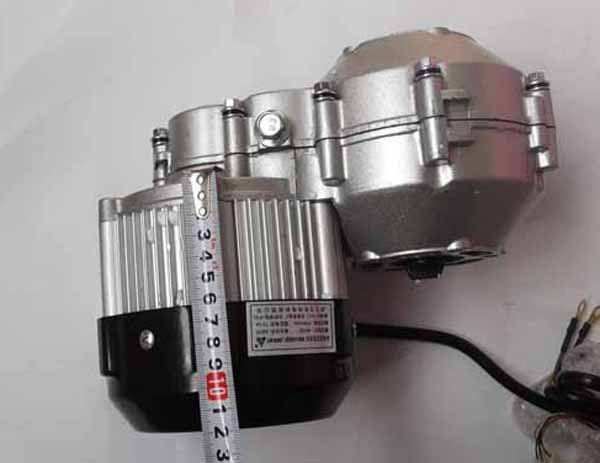 750w Bldc Gear Motor For Electric Tricycle Conversion